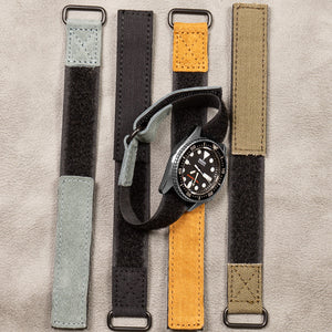NASA Strap PVD Gray Suede