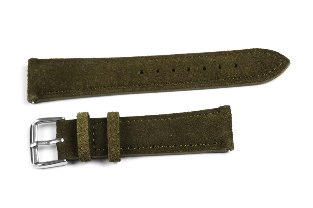 Classic Suede Moss Green