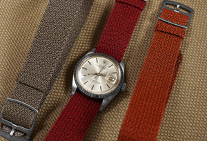Cloudy Perlon strap Autumn