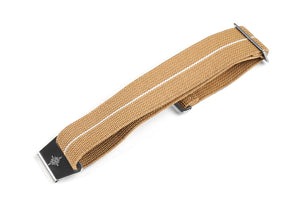 Marine Nationale Strap Khaki and White