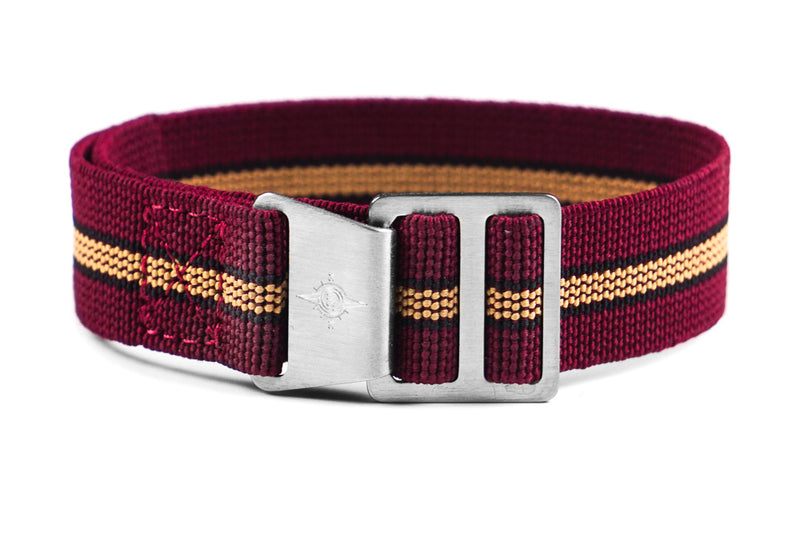 Paratrooper Strap Burgundy, Black and Beige