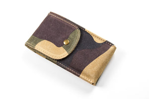 Watch Pouch Camo Suede