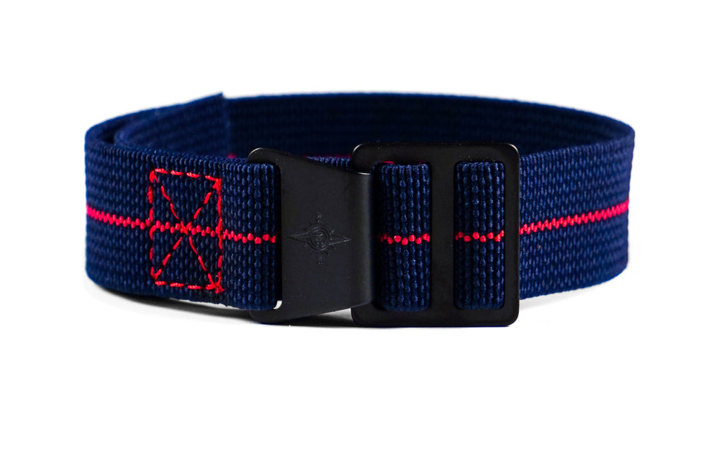 Paratrooper PVD Strap Navy and Red