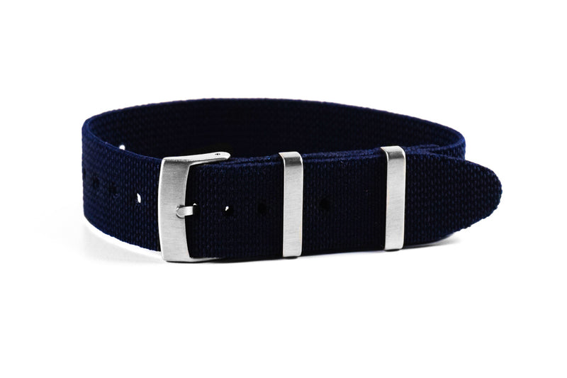 Elastic Single Pass Strap Navy