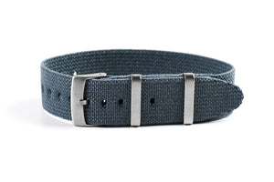 Elastic Single Pass Strap Gray (18 & 22 mm)