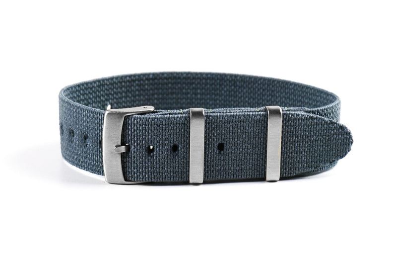 Elastic Single Pass Strap Gray (18, 20 & 22 mm)