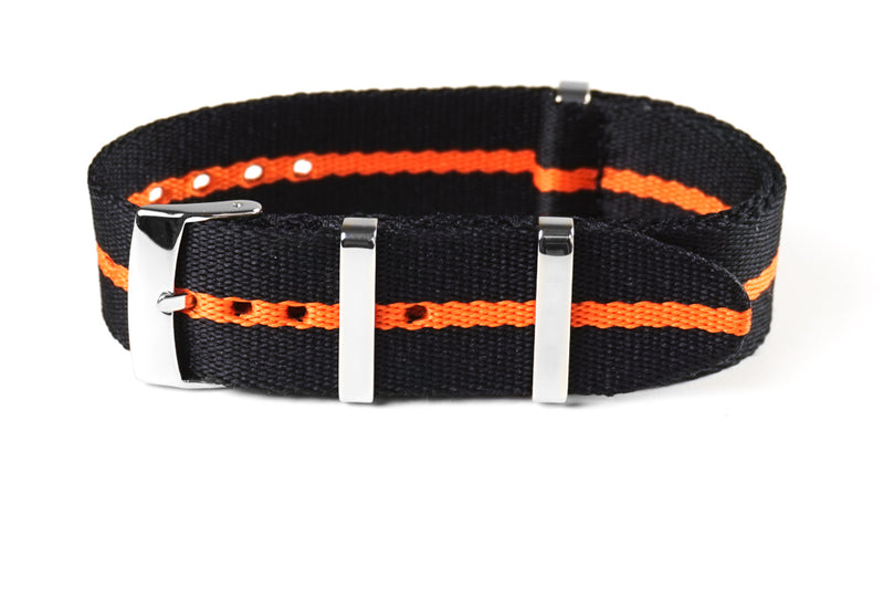 Deluxe Seat Belt NATO Scuba Orange (20 & 22 mm)