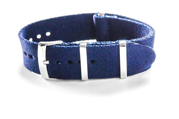 Deluxe Seat Belt NATO Navy (18, 21 & 22 mm)