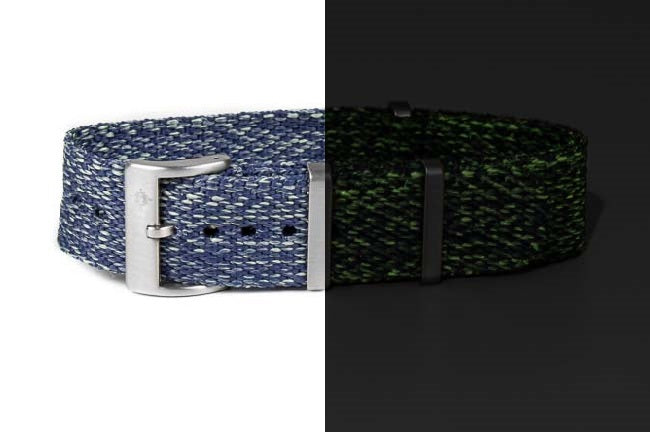 "Deluxe NATO Strap ""The Nightsky Lumed"""