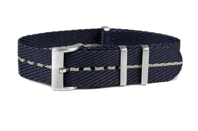 Deluxe NATO Strap Midnight and Barley