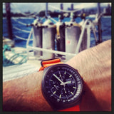 Extra Long PVD NATO Strap Orange - Cheapest NATO Straps  - 4