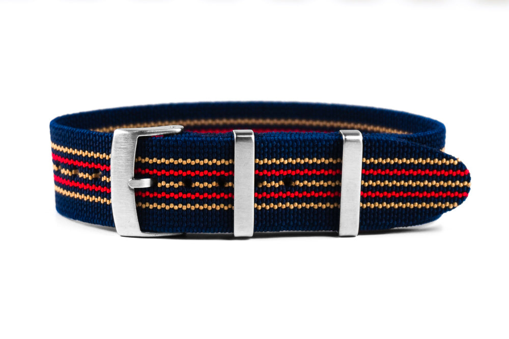 Elastic Single Pass Strap Royal (20 & 22 mm)