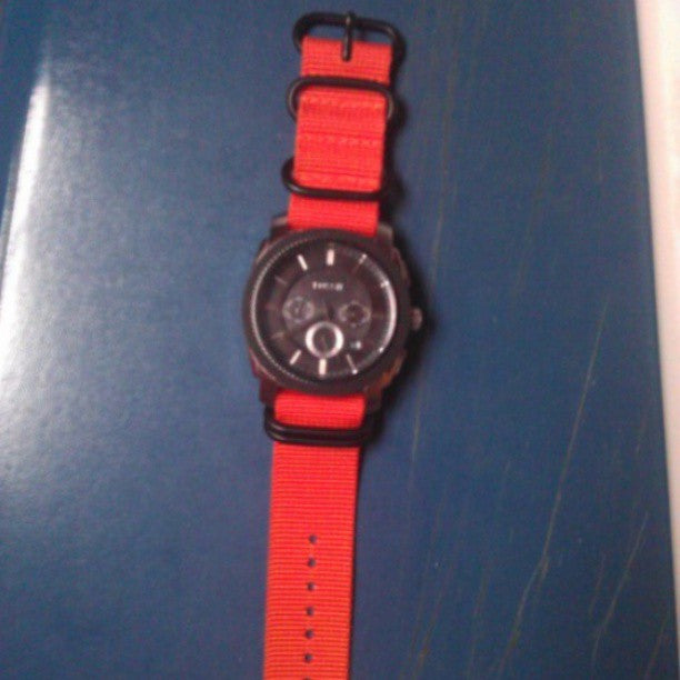 PVD Zulu Strap 5-ring Orange - Cheapest NATO Straps  - 6