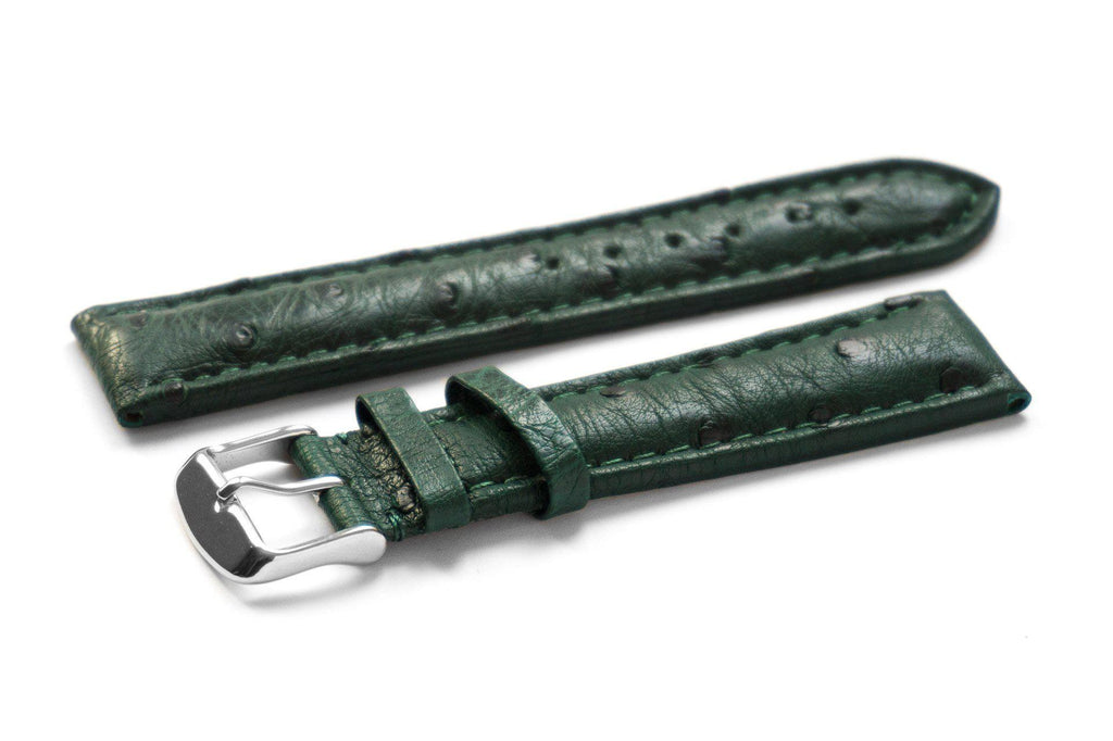 Genuine Ostrich Green - Cheapest NATO Straps  - 1