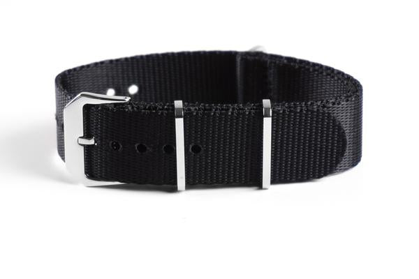 Heavy Duty Seat Belt NATO Strap Black