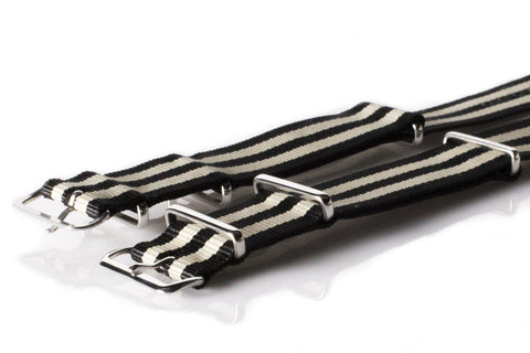 NATO Regimental Strap Black and Gold - Cheapest NATO Straps  - 2