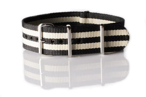 NATO Regimental Strap Black and Gold - Cheapest NATO Straps  - 1