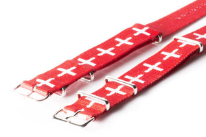 NATO Regimental Strap Swiss - Cheapest NATO Straps  - 2