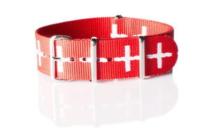 NATO Regimental Strap Swiss - Cheapest NATO Straps  - 1