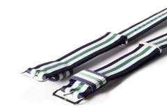 Premium Original NATO Strap Navy, White and Green - Cheapest NATO Straps  - 2