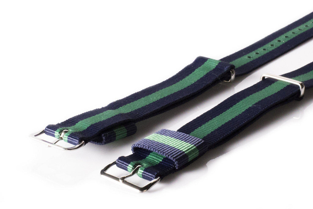 Premium Original NATO Strap Navy and Green - Cheapest NATO Straps  - 2