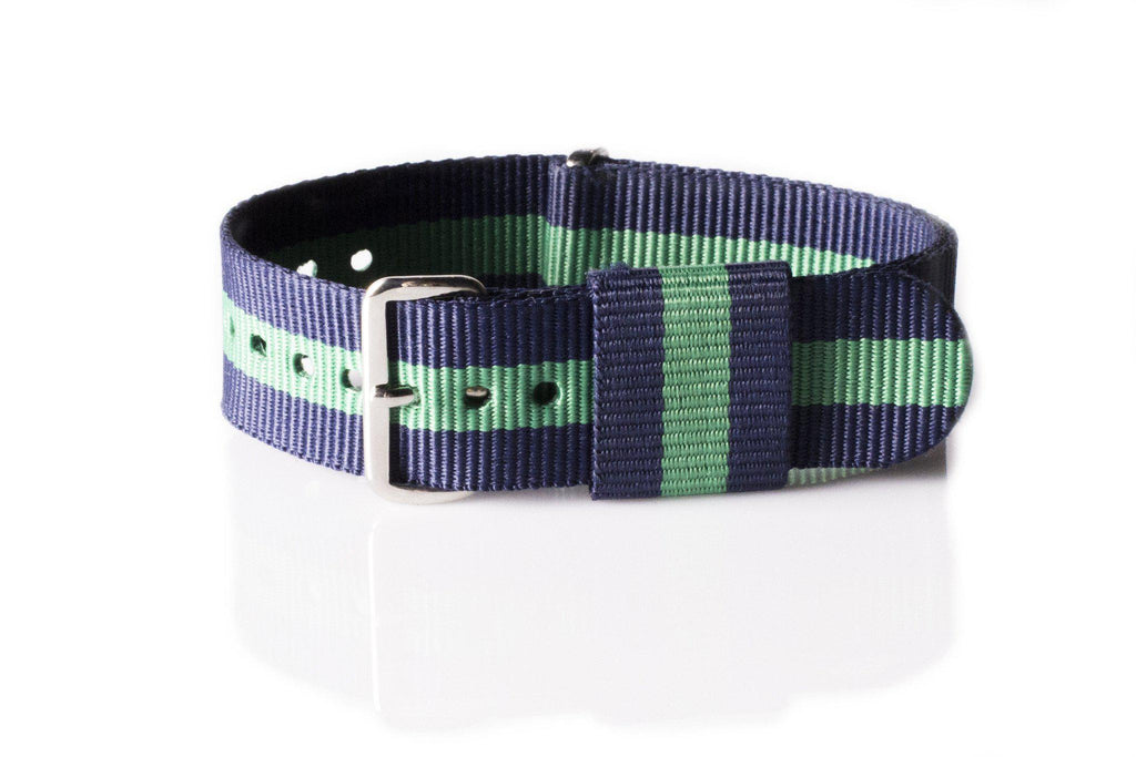 Premium Original NATO Strap Navy and Green - Cheapest NATO Straps  - 1