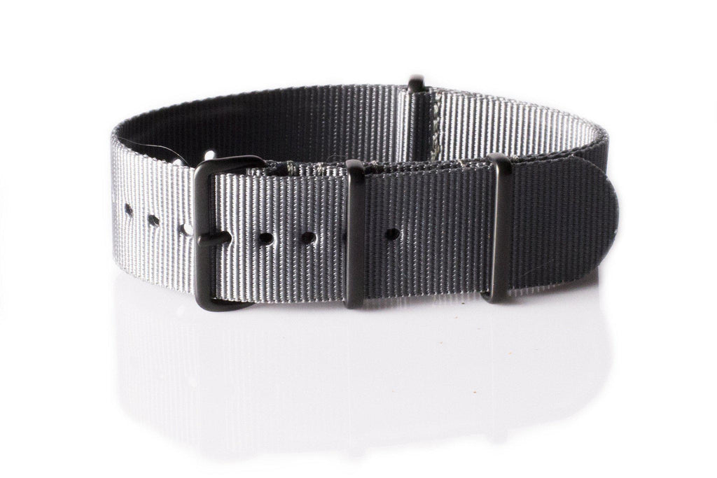 Extra Long PVD NATO Strap Gray - Cheapest NATO Straps  - 1
