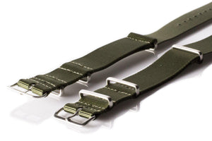 Brushed Premium NATO strap Khaki Green - Cheapest NATO Straps  - 2