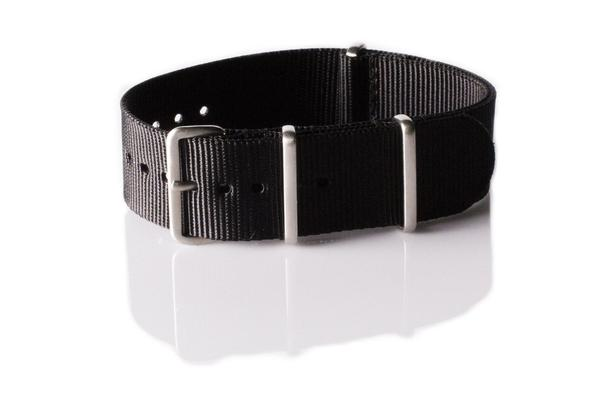 Brushed Premium NATO strap Black