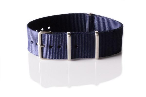 Brushed Premium NATO strap Navy