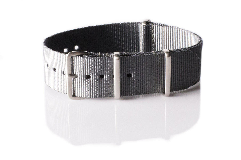 Brushed Premium NATO strap Gray - Cheapest NATO Straps  - 1