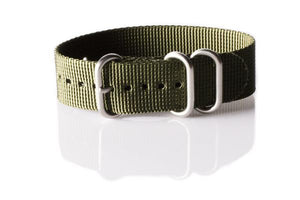 Zulu strap 3-ring Khaki Green