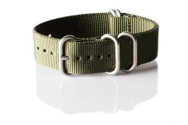 Zulu strap 5-ring Khaki Green