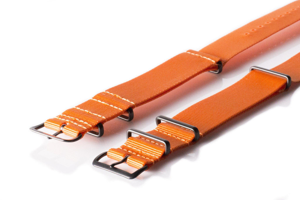 Extra Long PVD NATO Strap Orange - Cheapest NATO Straps  - 2