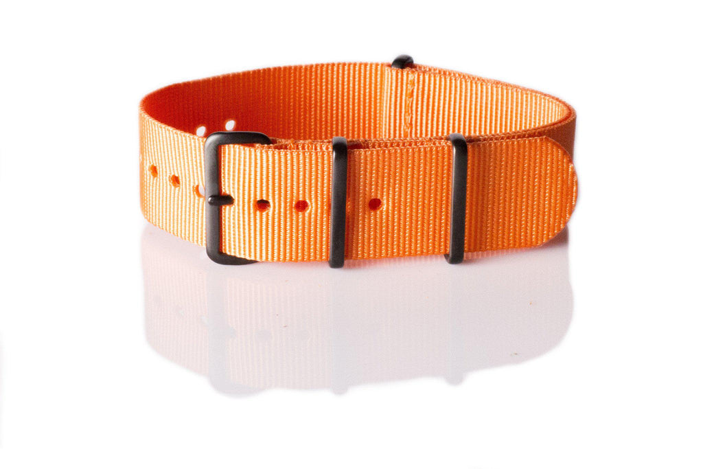 Extra Long PVD NATO Strap Orange - Cheapest NATO Straps  - 1