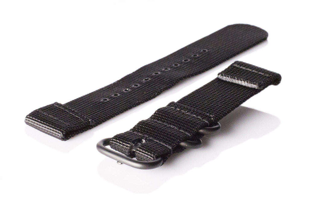 Smart Watch Strap PVD Black - Cheapest NATO Straps  - 2