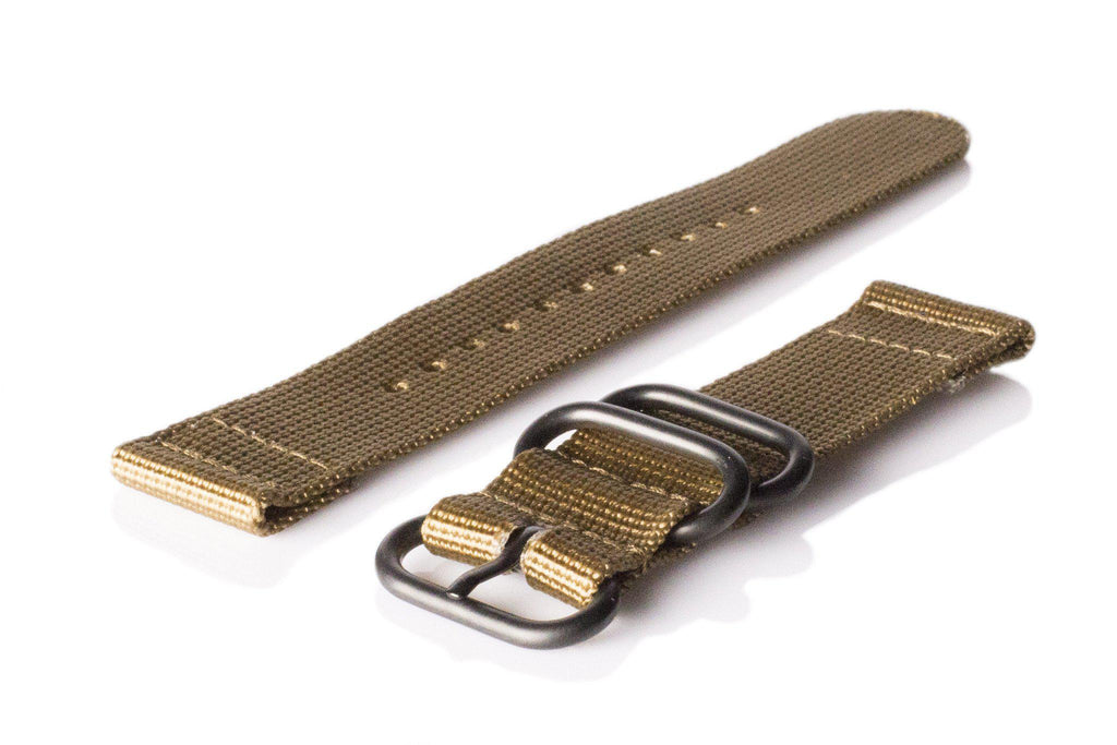 Smart Watch Strap PVD Khaki - Cheapest NATO Straps  - 1