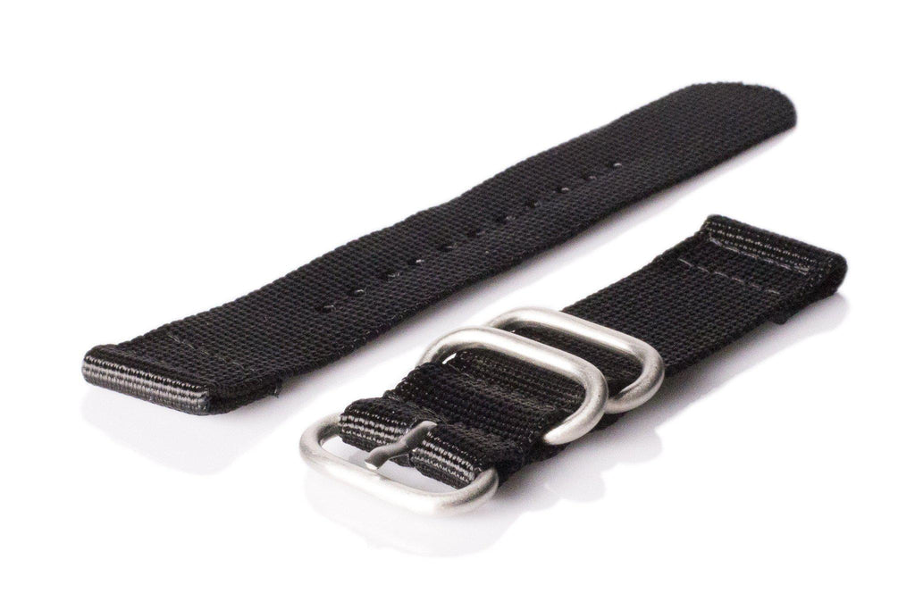 Smart Watch Strap Black - Cheapest NATO Straps  - 1