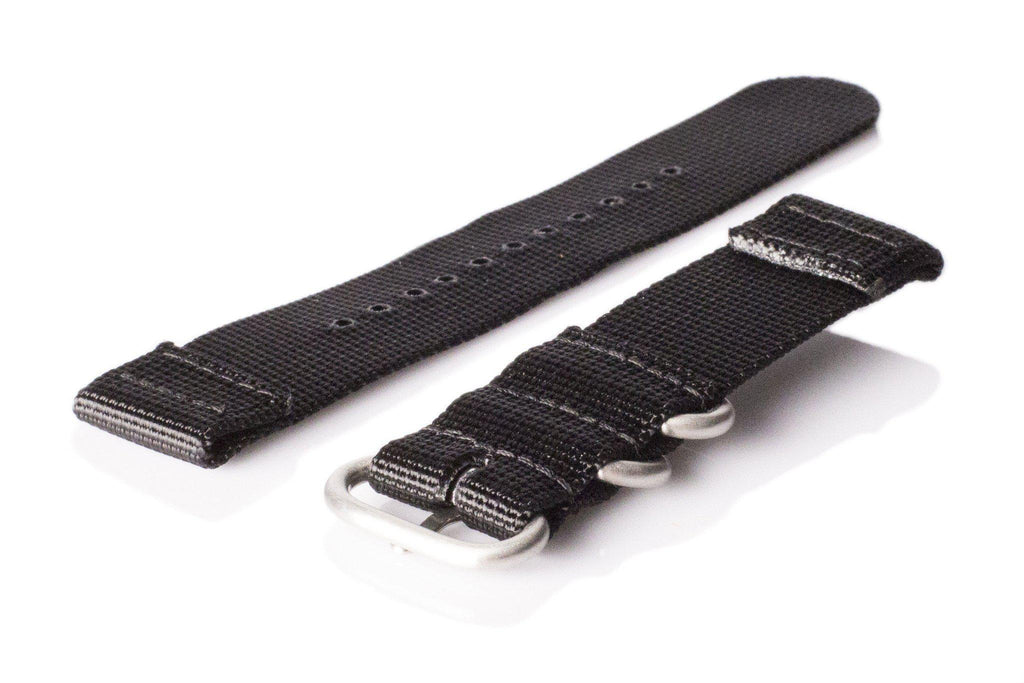 Smart Watch Strap Black - Cheapest NATO Straps  - 2
