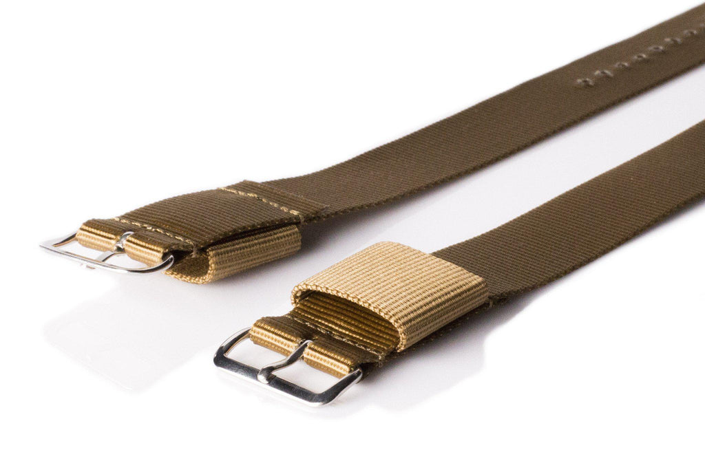 Original NATO Strap Golden Brown - Cheapest NATO Straps  - 2