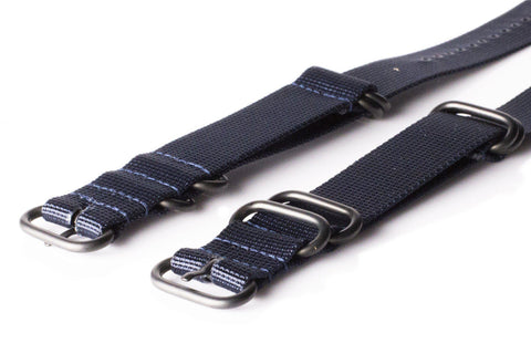 Extra Long PVD Zulu Strap 5-ring Navy - Cheapest NATO Straps  - 2