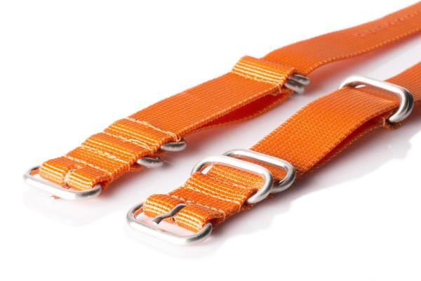 Zulu strap 5-ring Orange