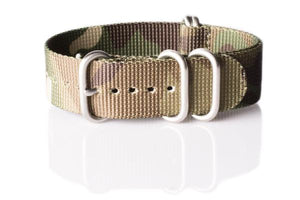 Zulu strap 5-ring Camouflage