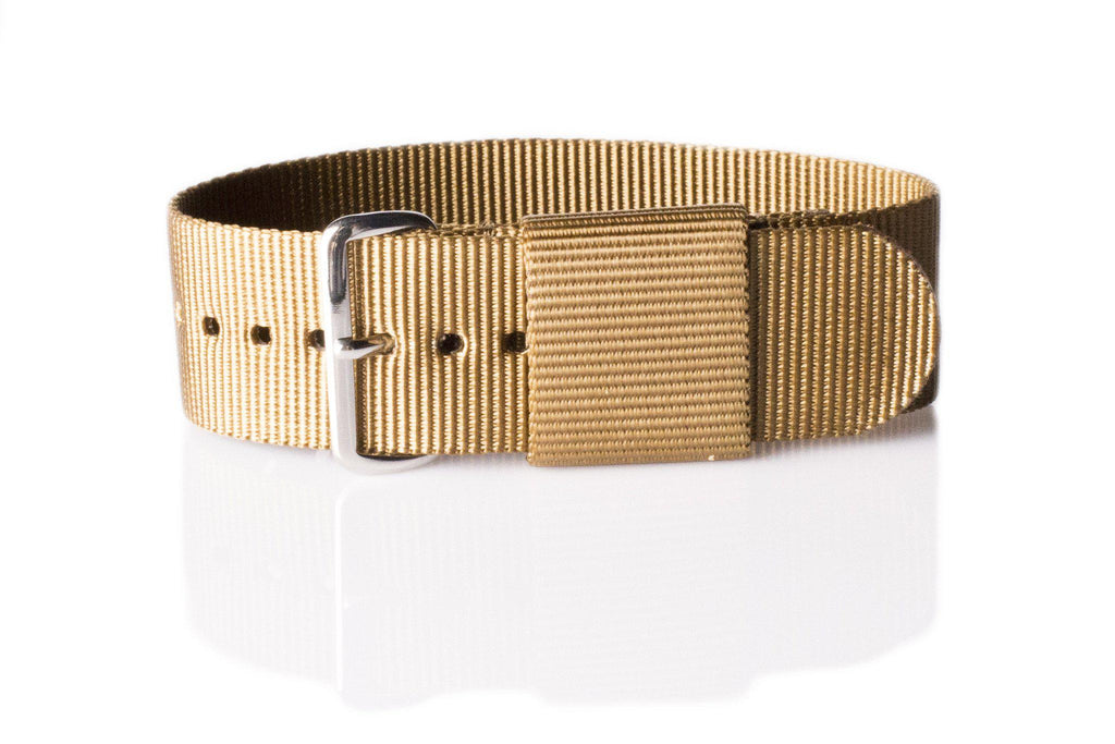 Original NATO Strap Golden Brown - Cheapest NATO Straps  - 1