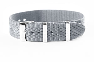 Jubilée Single Pass Strap Gray (18 & 22 mm)