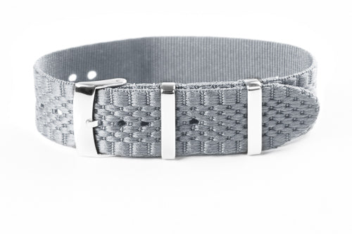Jubilée Single Pass Strap Gray (18, 20 & 22 mm)