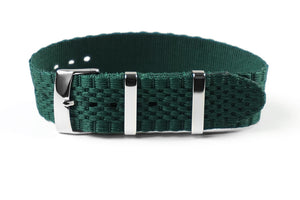 Jubilée Single Pass Strap British Racing Green