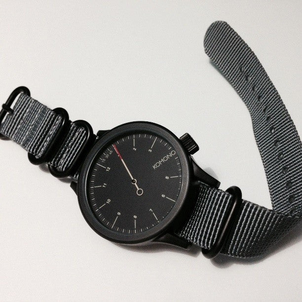 Extra Long PVD Zulu Strap 5-ring Gray - Cheapest NATO Straps  - 4