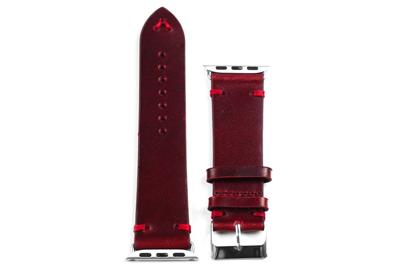 Apple Watch Strap Vintage Bordeaux