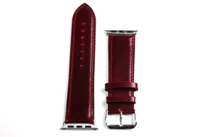 Apple Watch Strap Classic Bordeaux